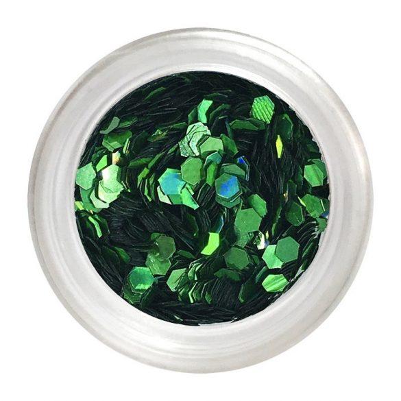 Nail Art Pailletten in Grün klein