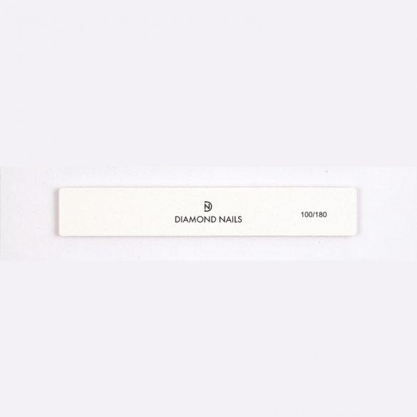 Nagelfeile breit in Weiß 100/180