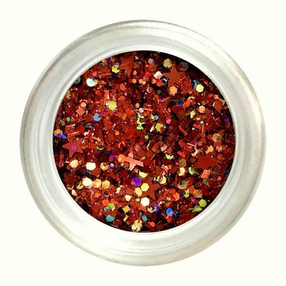 Metall Glitter Pulver Mix #11 - Rot