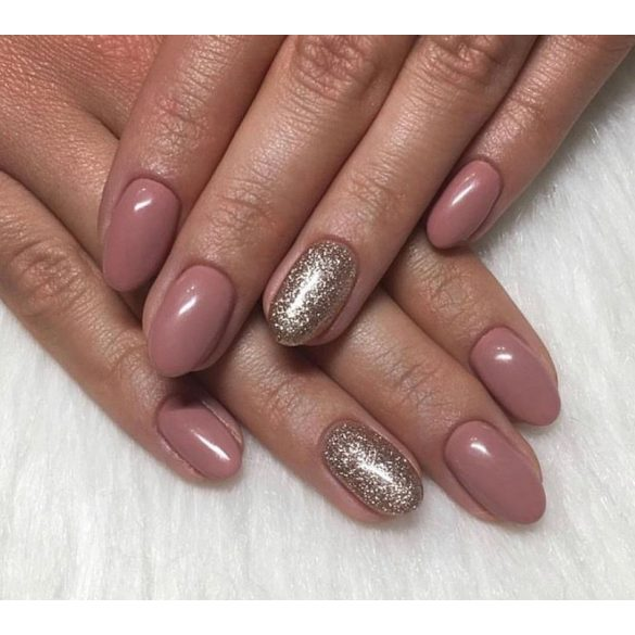 Gel Polish - DN101 Gold Glitter