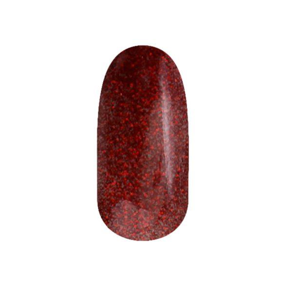 Gel Polish - DN104 Red Glitter
