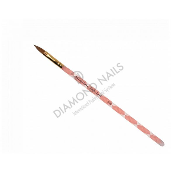 Professionelle Acryl Pinsel Gr.10 in Pink
