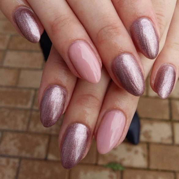 Gel Polish - DN072 Metallic Lila