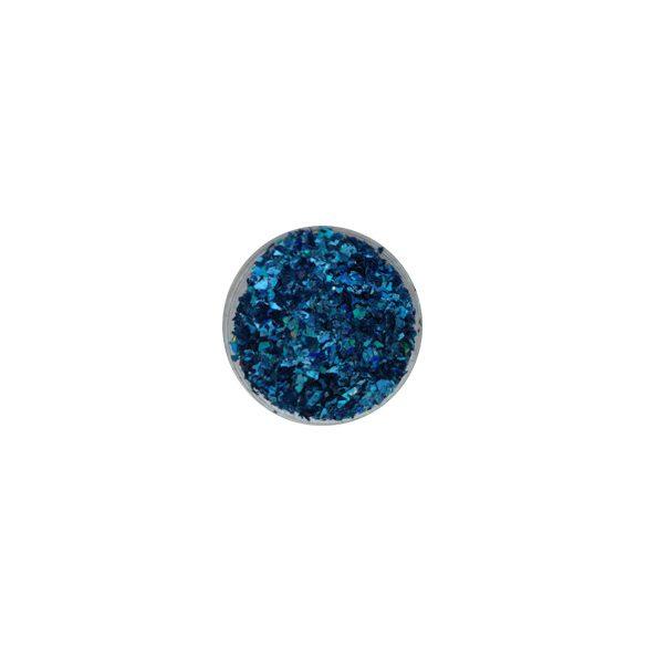 Glitter Flakes in metallic Blau