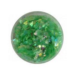 Glitter Flakes in Hellgrün