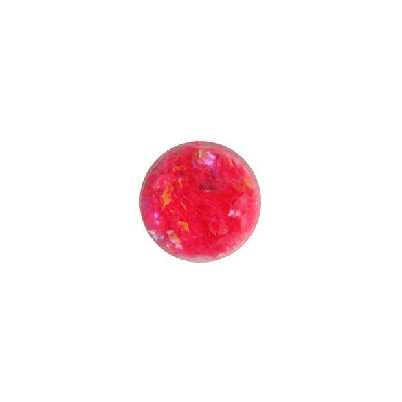 Glitter Flakes in Rosa