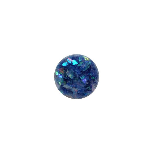 Glitter Flakes in Blau