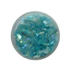 Glitter Flakes in Hellblau