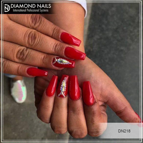 Gel Polish - DN079 Orange Red