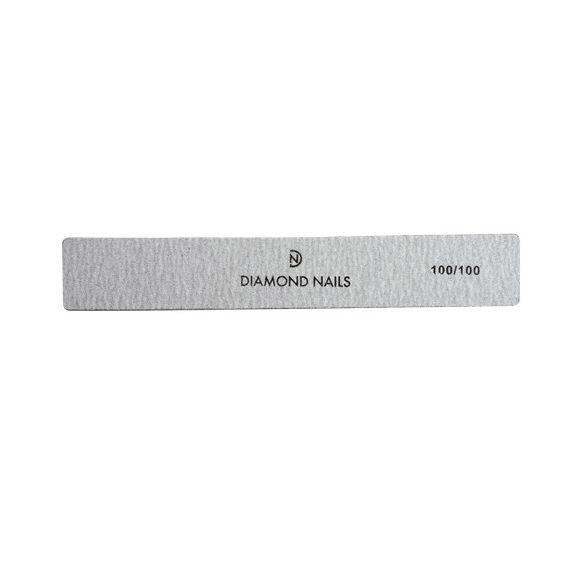 Nagelfeile breit in Grau 100/100