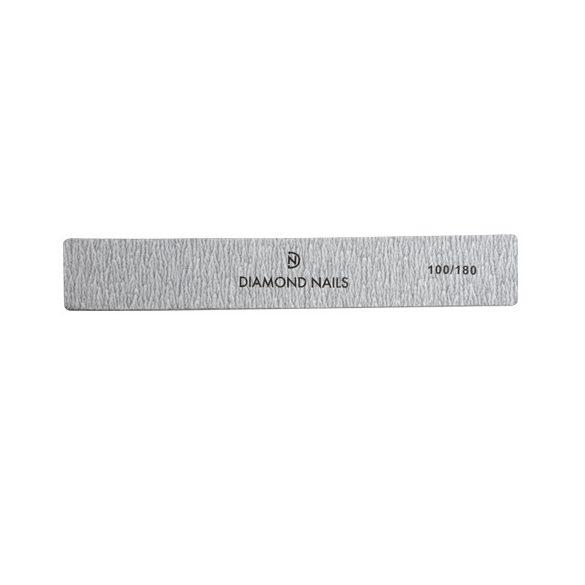 Nagelfeile breit in Grau 100/180