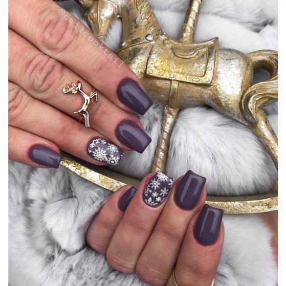 Gel Polish - DN084 Purple Grey