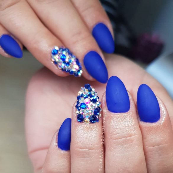 Gel Polish - DN081 Metallic Royal Blue