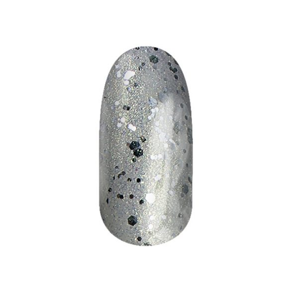 Gel Polish - DN110 - Silver Gold Champagne Mix