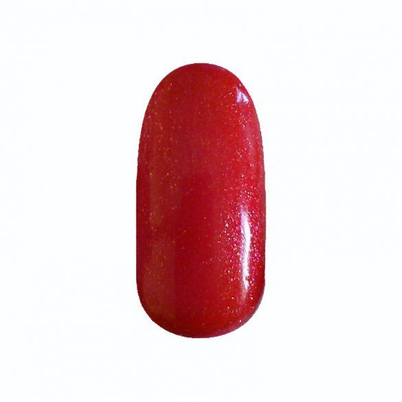 Gel Polish - DN136 Gold Iridescent Red