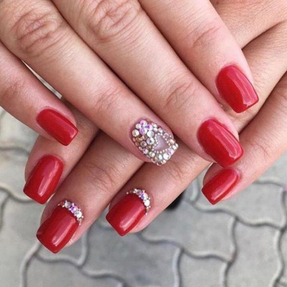 Gel Polish - DN132 Dark Red