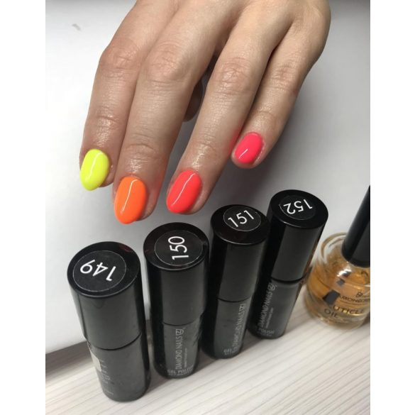 Gel Polish - DN150 - Neon Orange