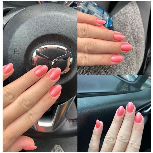 Gel Polish - DN157 Silky Peachy Pink