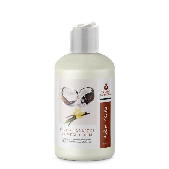 Hand- und Fußpflege Creme  - Vanille Kokos - 500ml