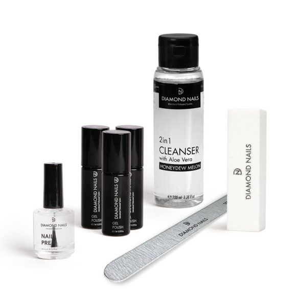 Gel Polish Starter Set ohne Lampe