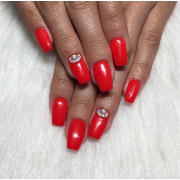 Gel Polish - DN196 Wild Neon Red
