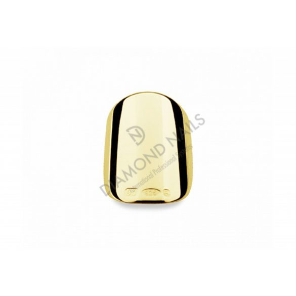 Classic Natural Short Gold Nagelschmuck