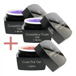 Extreme Led Competition Purple Gel Mit Geschenk