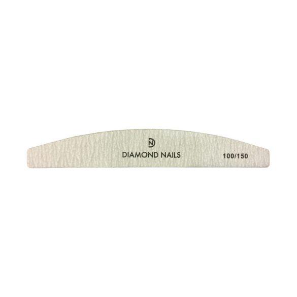 Nagelfeile gebogen in Grau 100/150