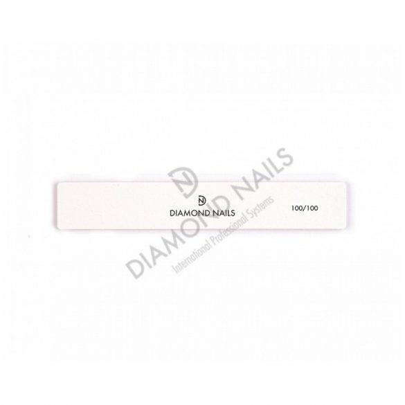Nagelfeile breit in Weiß 100/100