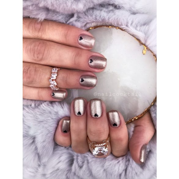 Gel Polish  4ml - DN073 Metallic Chrom