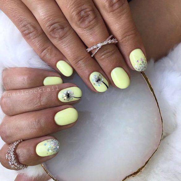 Gel Polish 4ml - DN016 Yellow Cream