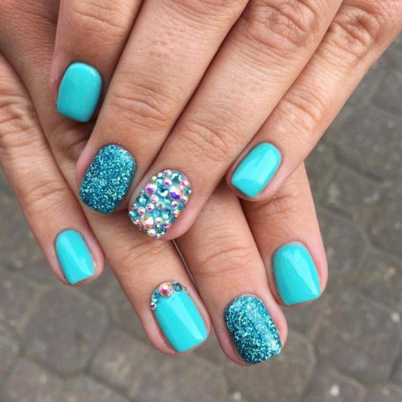 Gel Polish  4ml - DN047  Light Turquoise