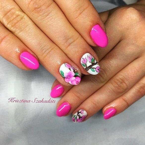 Gel Polish  4ml - DN090  Bon-Bon Pink