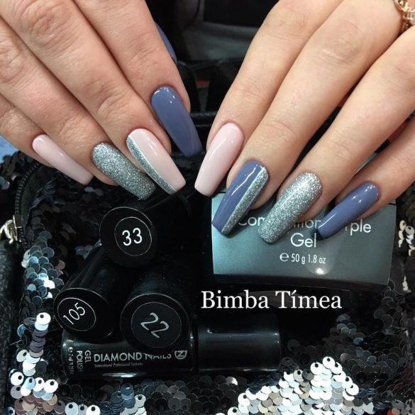 Gel Polish 4ml - DN022 Purple Blue