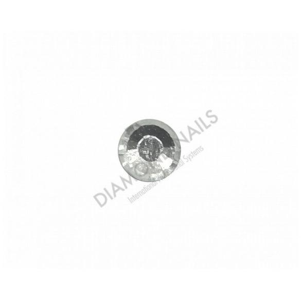 Strasssteine  Kristall in Silber SS3 100Stück