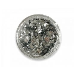 Chrom flakes - Silber