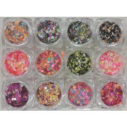 12 Stk. Rainbow konfetti #1