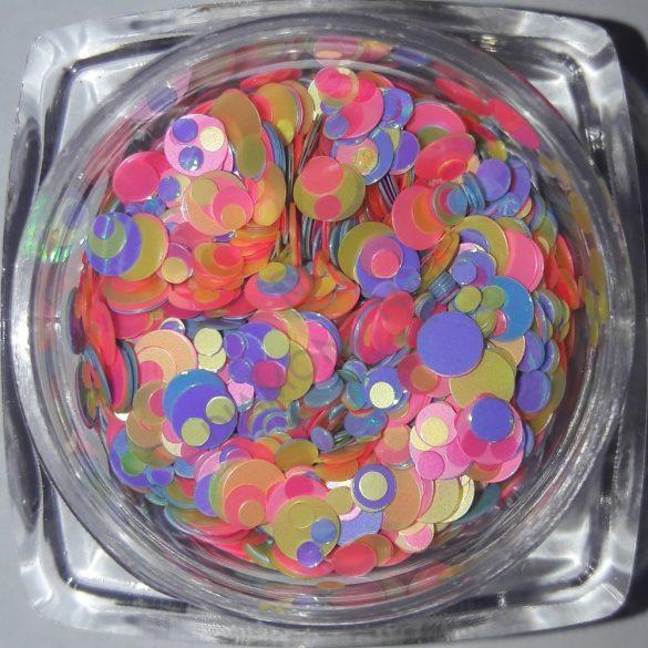 Rainbow konfetti #07