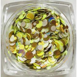 Rainbow konfetti #09