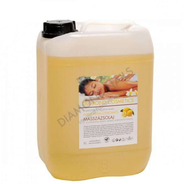 Aloe Vera Zitronengras Massageöl 5L