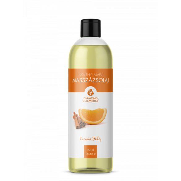 Massageöl mit Orangen-Zimt Duft 250ml