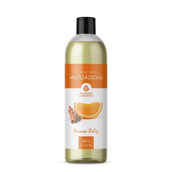 Massageöl mit Orangen-Zimt Duft 1L