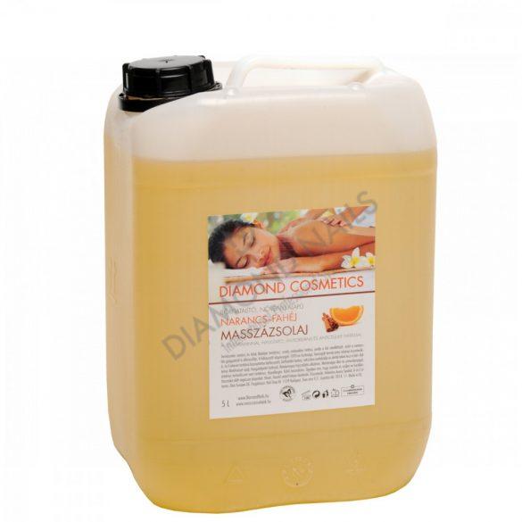 Massageöl mit Orangen-Zimt Duft 5L