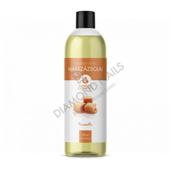 Massageöl mit Karamell Duft 250ml
