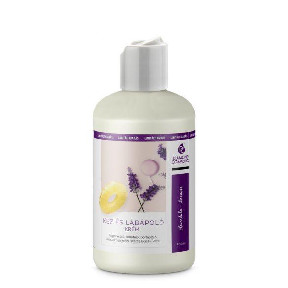 Hand- und Fußpflege Creme-Lavendel-Ananas-500ml