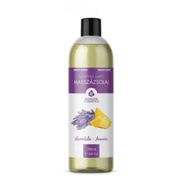 Massageöl mit Lavendel Ananasduft 1l