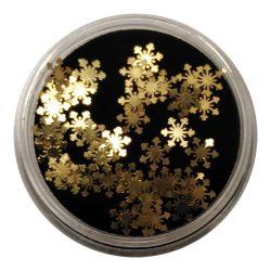 Nagel Deko -Gold Flakes
