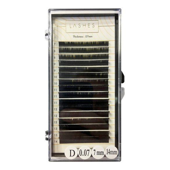 Einzeln Wimpern Mix 7-14mm-0,07