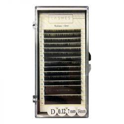 Einzelwimpern Mix-7-14mm-0,12