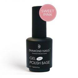 Gel Polish - Rubber Base Sweet Pink 15ml